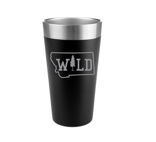 Montana Wild Stainless Steel Insulated Pint