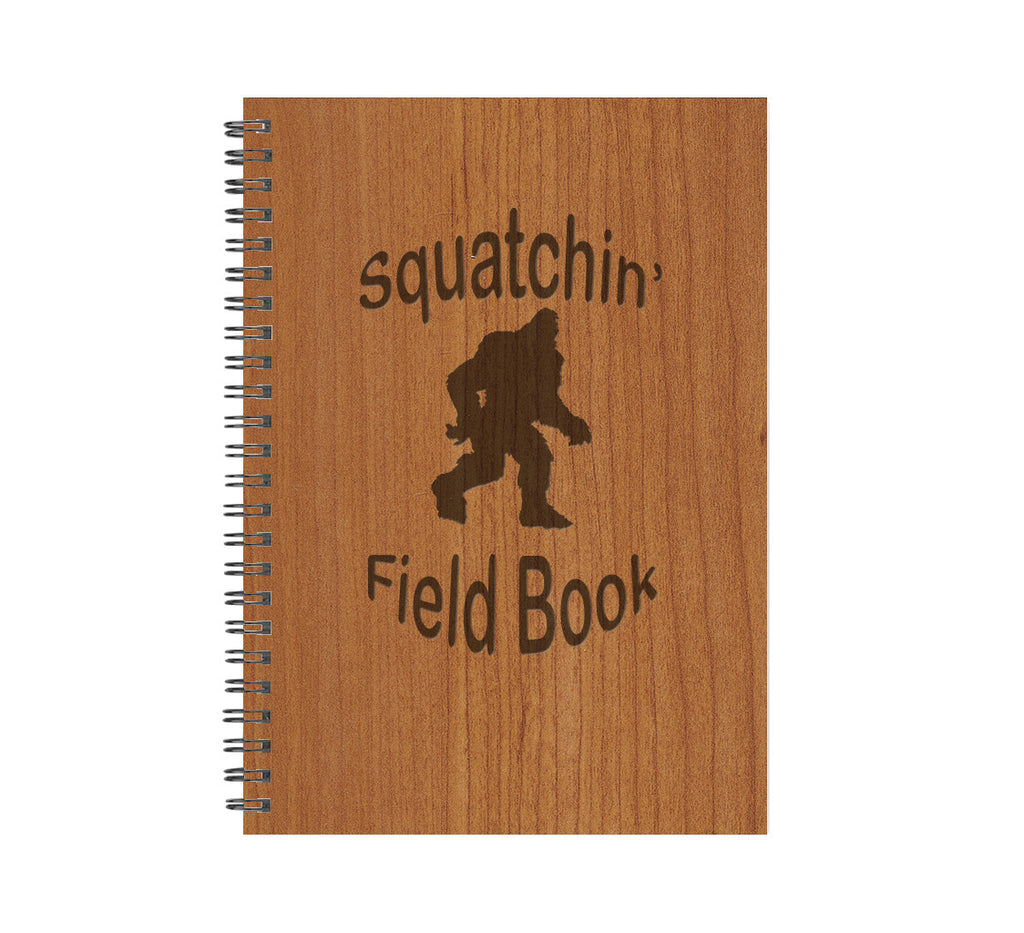 Squatchin' Field Book Wood Journal