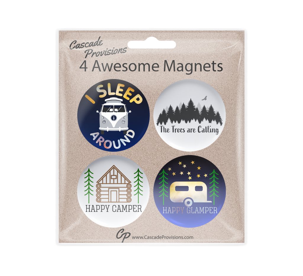 Camping Magnet Pack