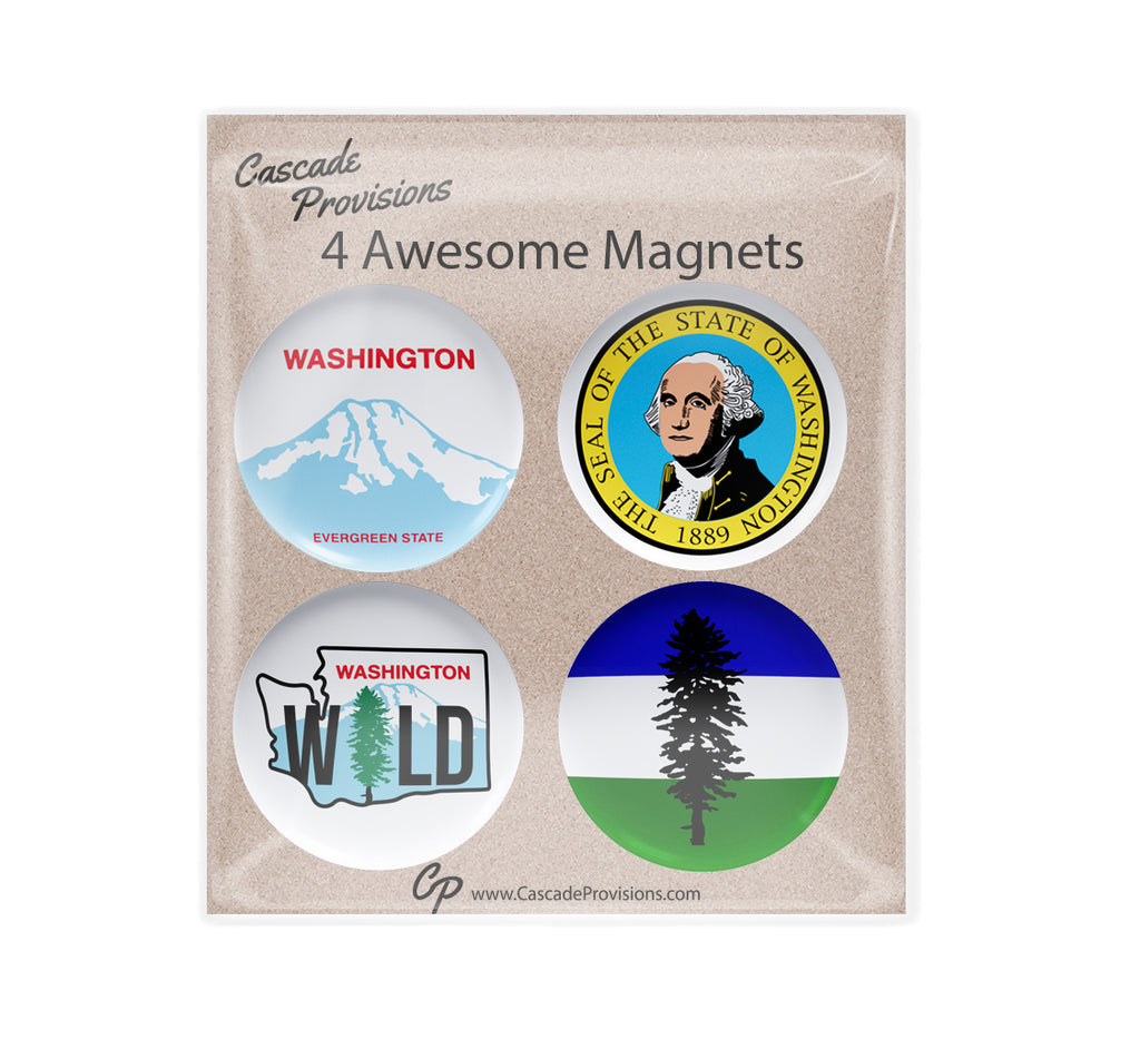 WA State Magnet Pack