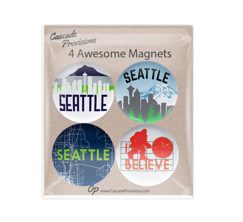 Seattle Magnet Pack