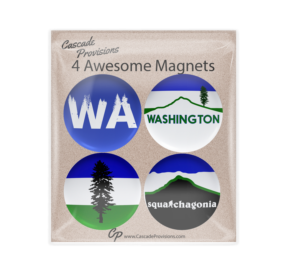 WA Cascadia Magnet Pack