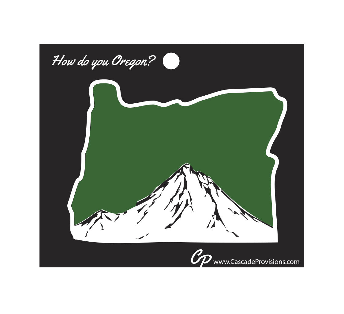 Oregon Mt. Hood Sticker