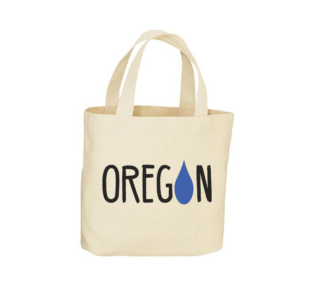 OR Raindrop Canvas Tote Bag