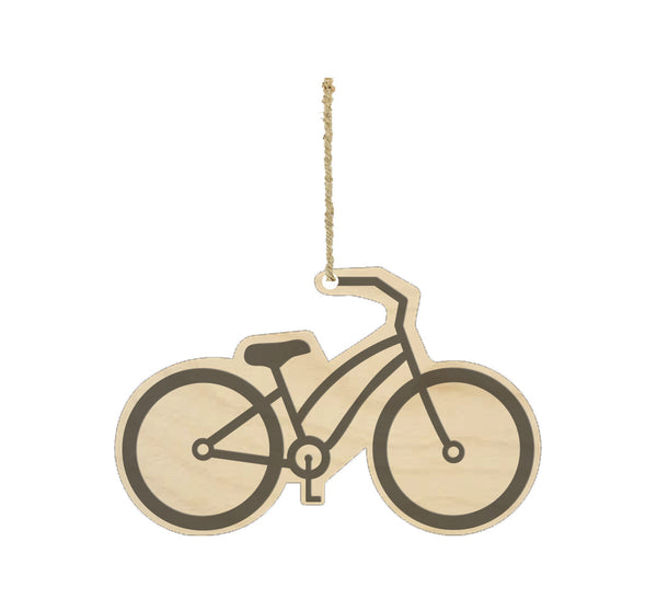 Bicycle Wood Ornament