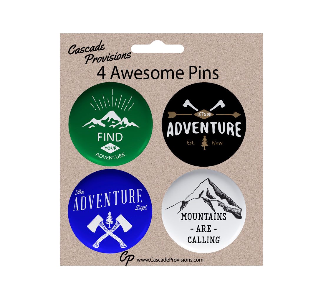 Adventure Pin Pack