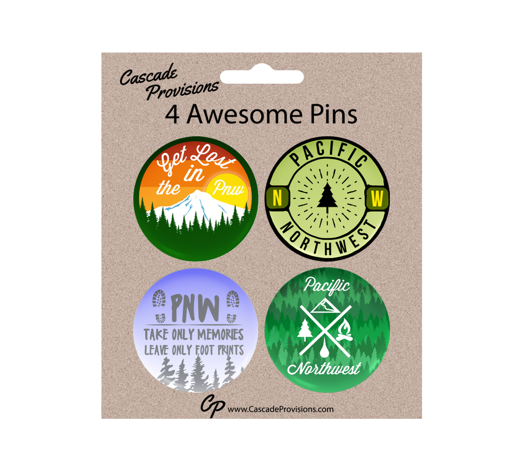 PNW Pin Pack