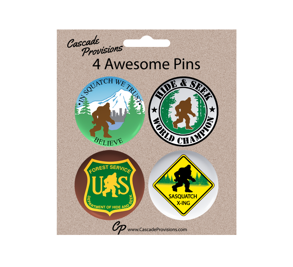 Squatch Pin Pack