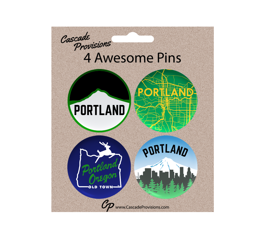 Portland City Pin Pack