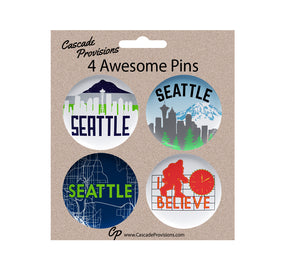 Seattle Pin Pack