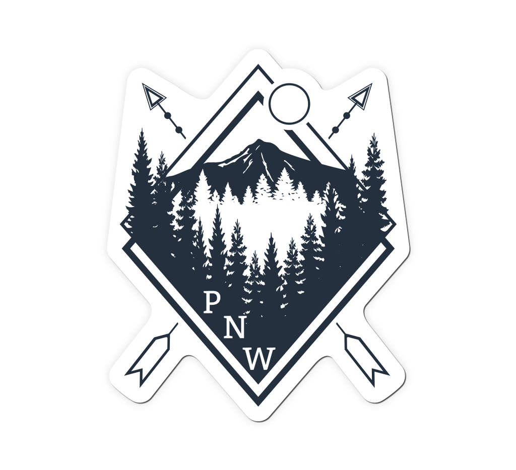 PNW Badge Sticker