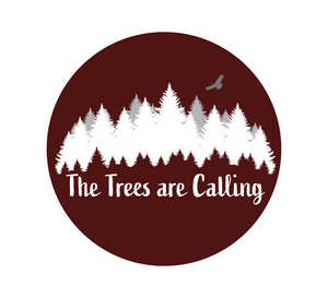 The Trees Are Calling Vinyl Sticker