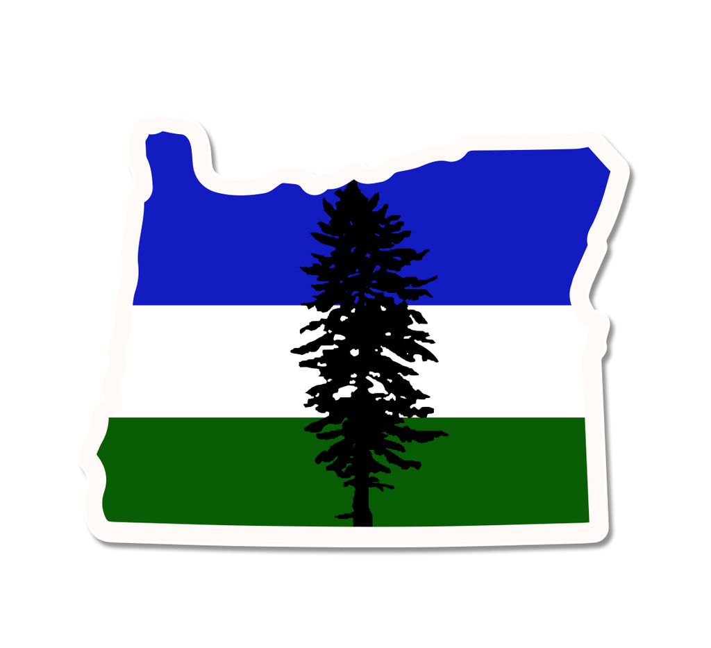 OR Cascadia Sticker