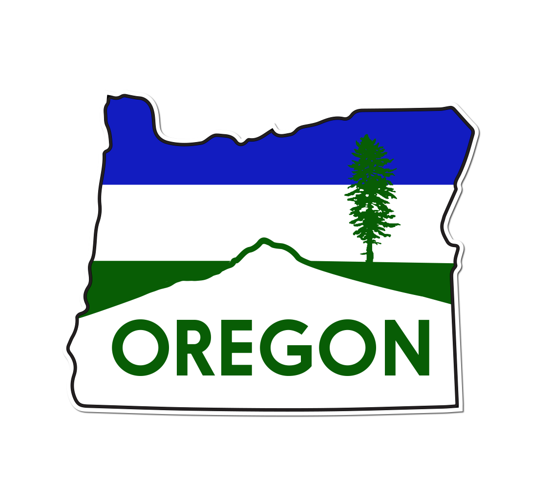 Mt. Hood Cascadia Sticker