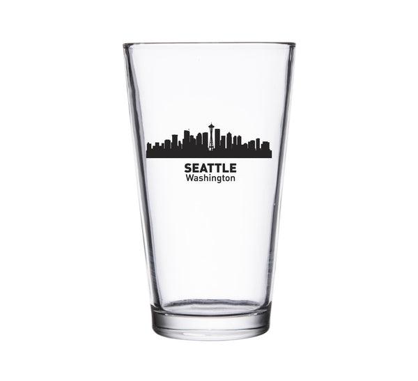 Seattle Skyline Pint