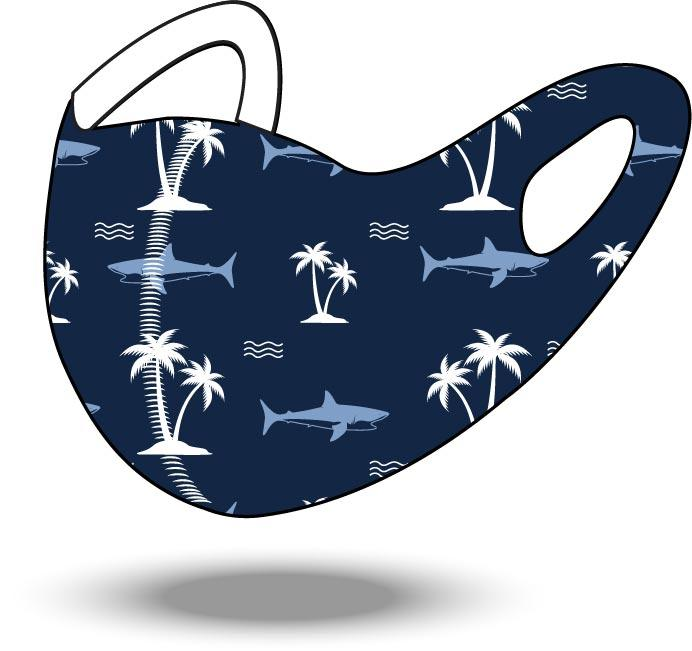 Shark Reusable Soft Style Mask
