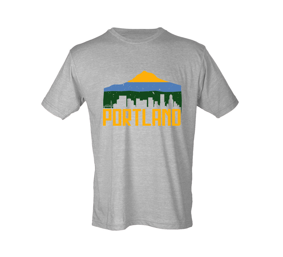 Portland Tricolor Soft Style Tee