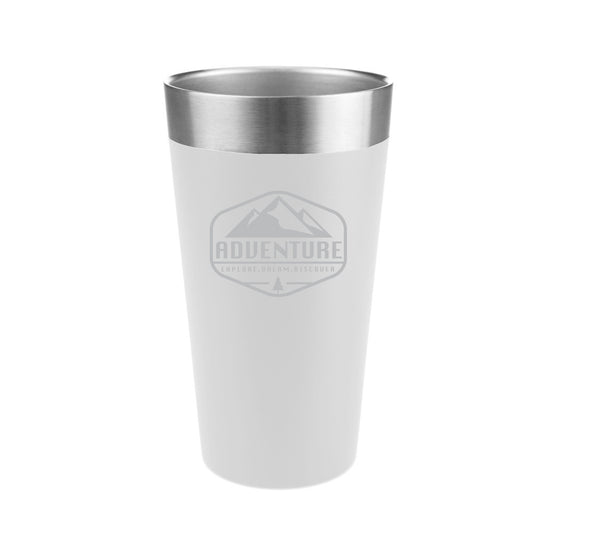 Explore Dream Discover Stainless Steel Insulated Pint