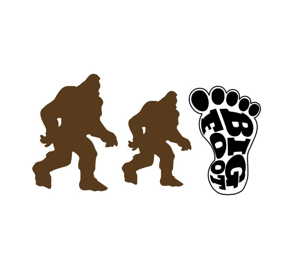Big Foot Icon Sticker Pack