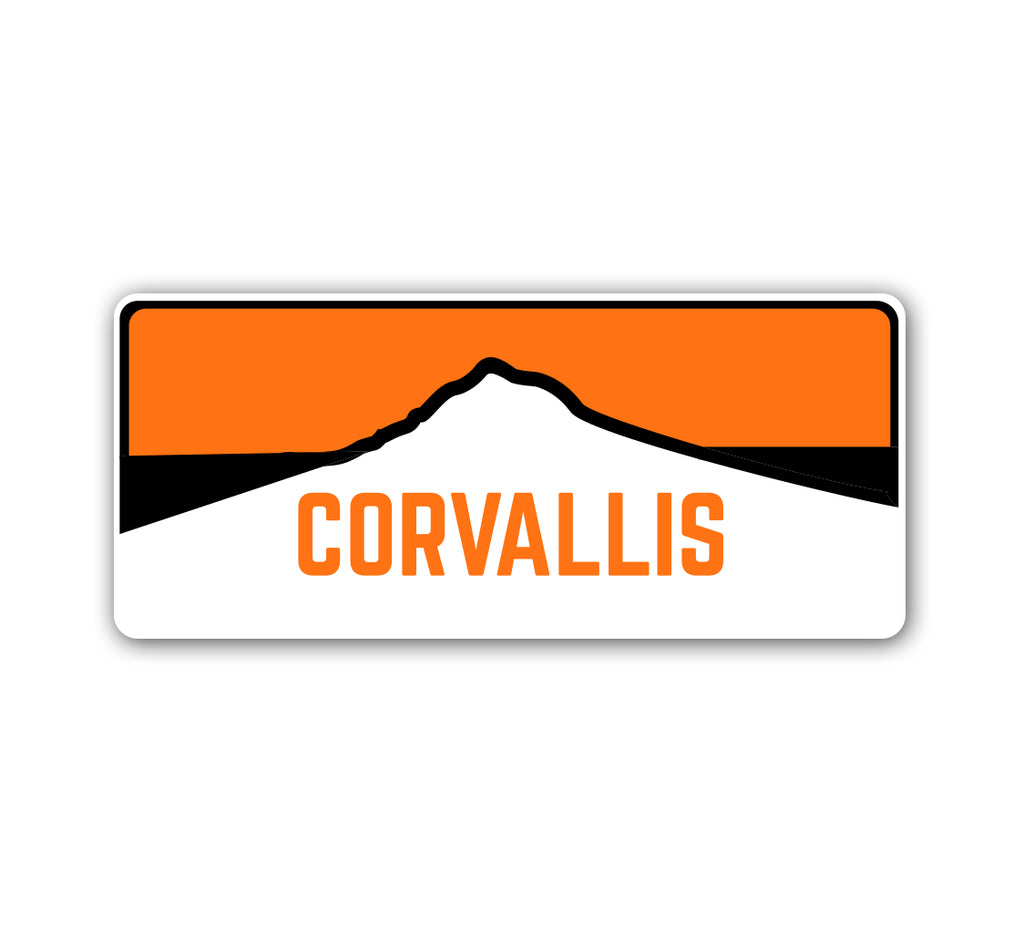 Corvallis Horizon Sticker