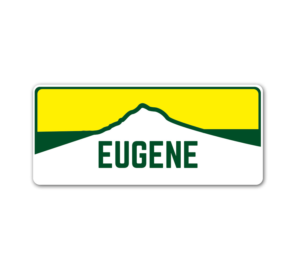 Eugene Horizon Sticker