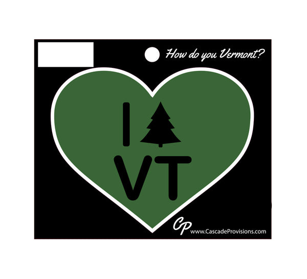 I TREE Vermont Sticker