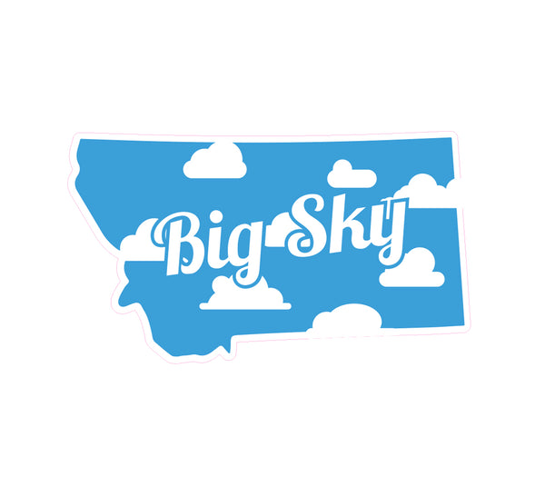 Big Sky Montana Sticker