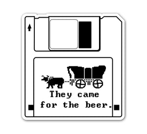OR Trail Floppy Disc Sticker