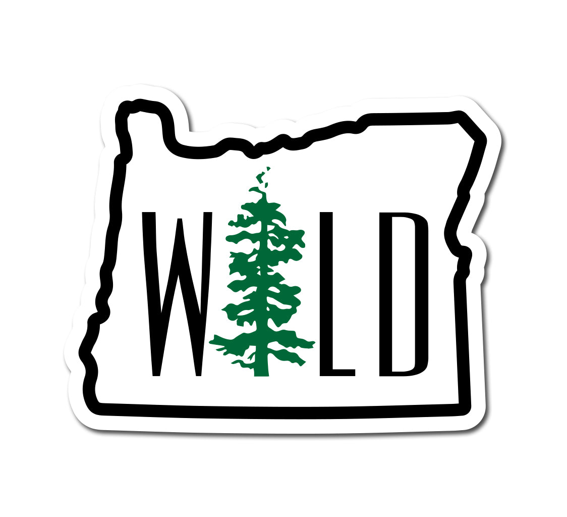 Wild OR Sticker