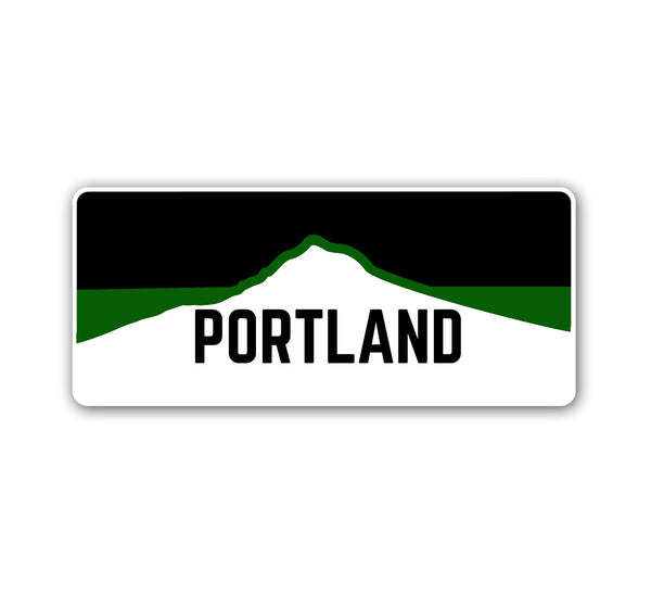 Portland Horizon Green Sticker