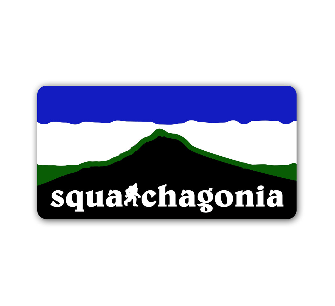 Squatchagonia Sticker