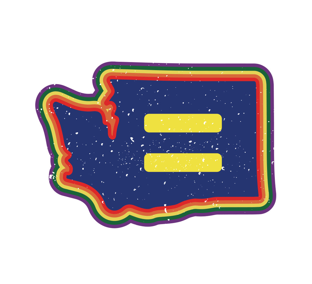 WA Pride Vinyl Sticker