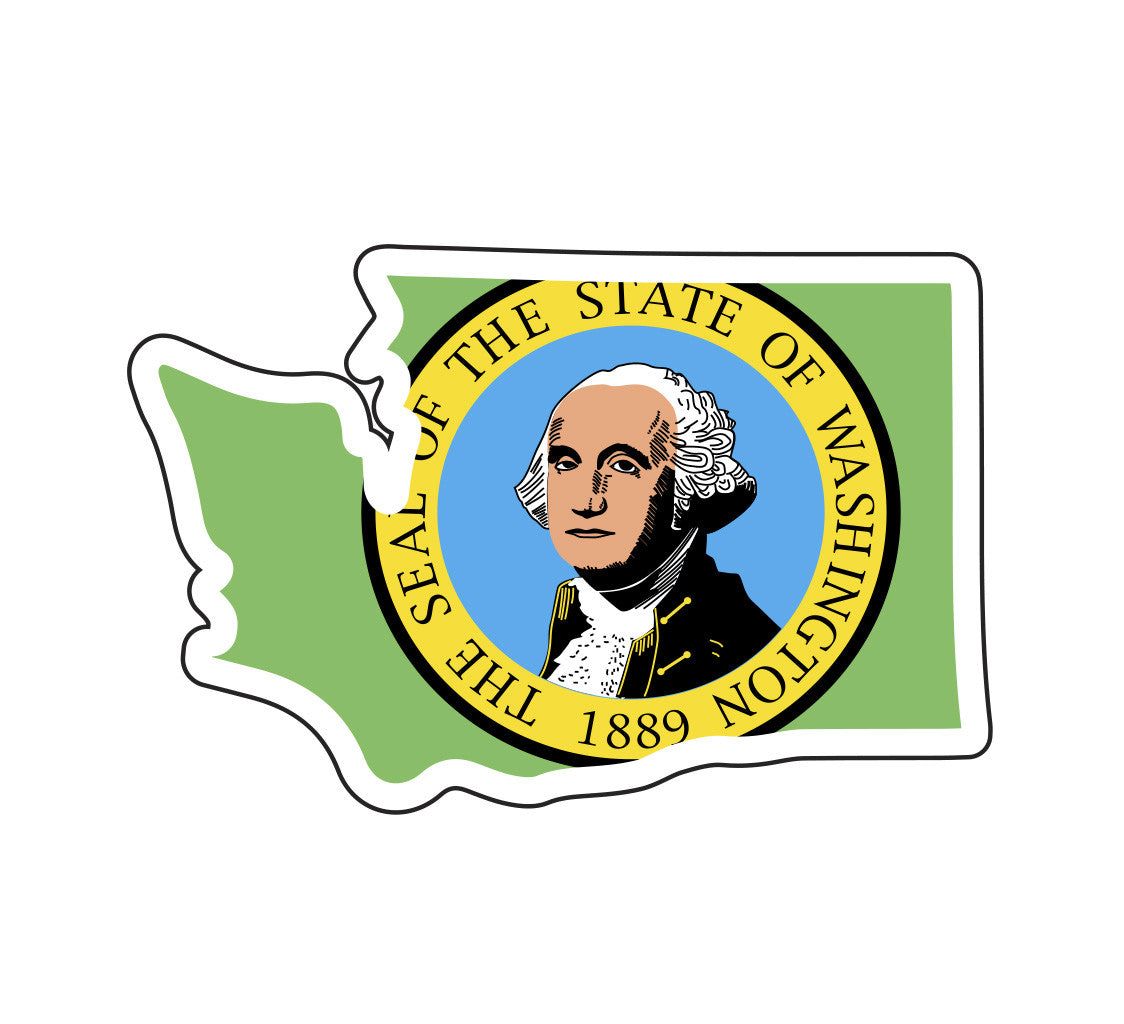 Washington State Flag Sticker
