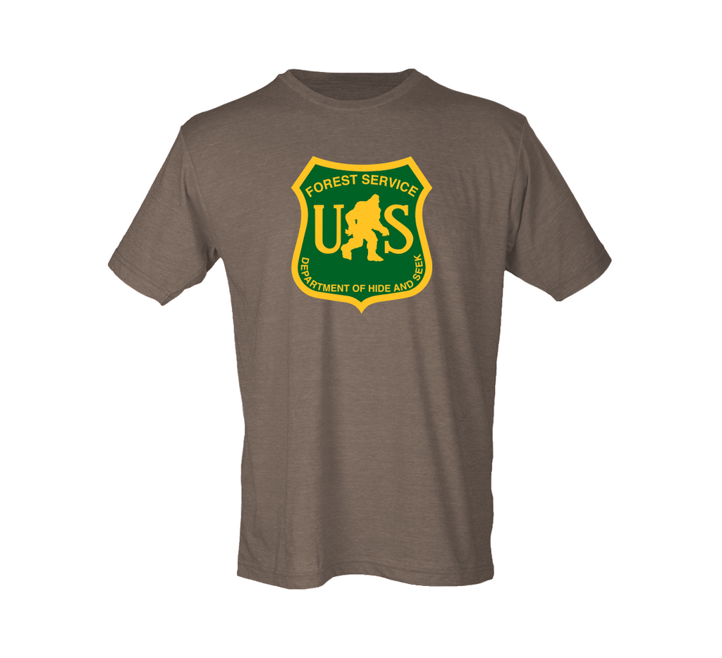 Bigfoot Forest Service Shirt