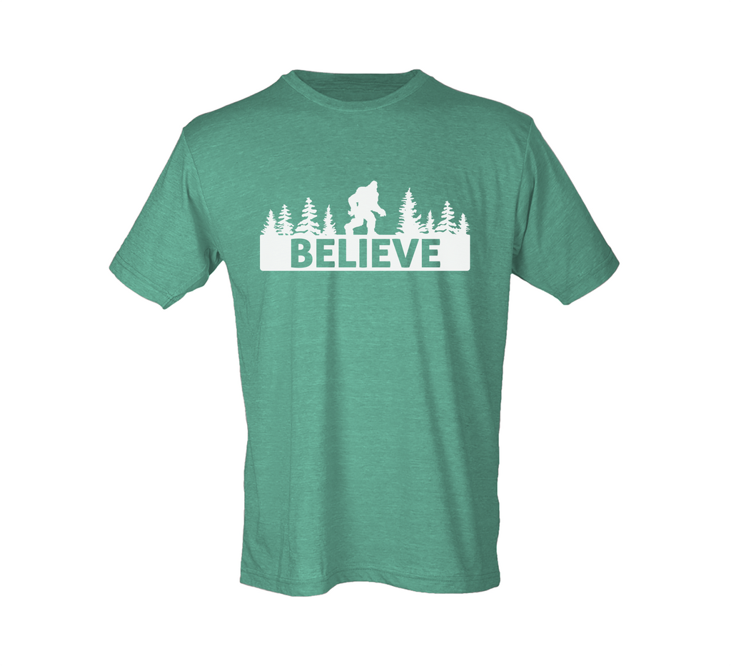 Believe in Bigfoot Shirt