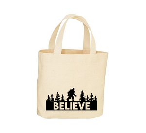 I Believe Canvas Tote Bag