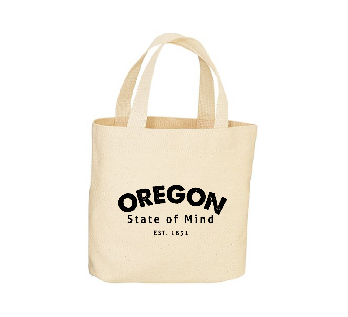 OR State of Mind Canvas Tote Bag