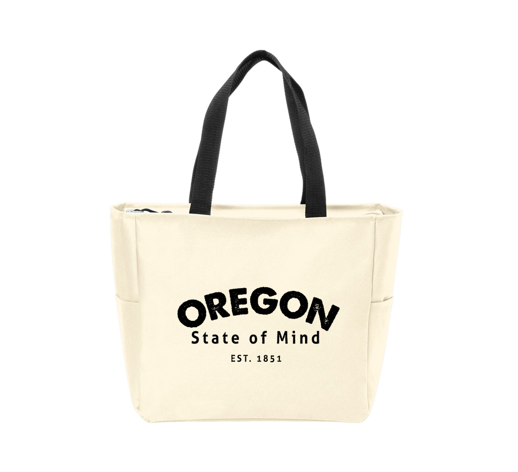 OR State of Mind Waterproof Tote Bag
