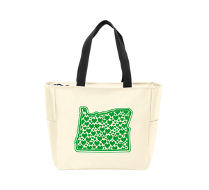 OR Hearts Waterproof Tote Bag