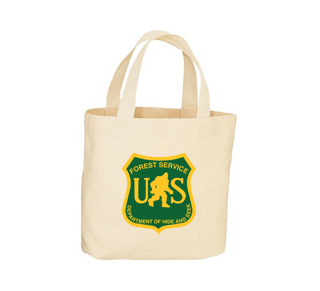 Bigfoot Forest Service Tote Bag