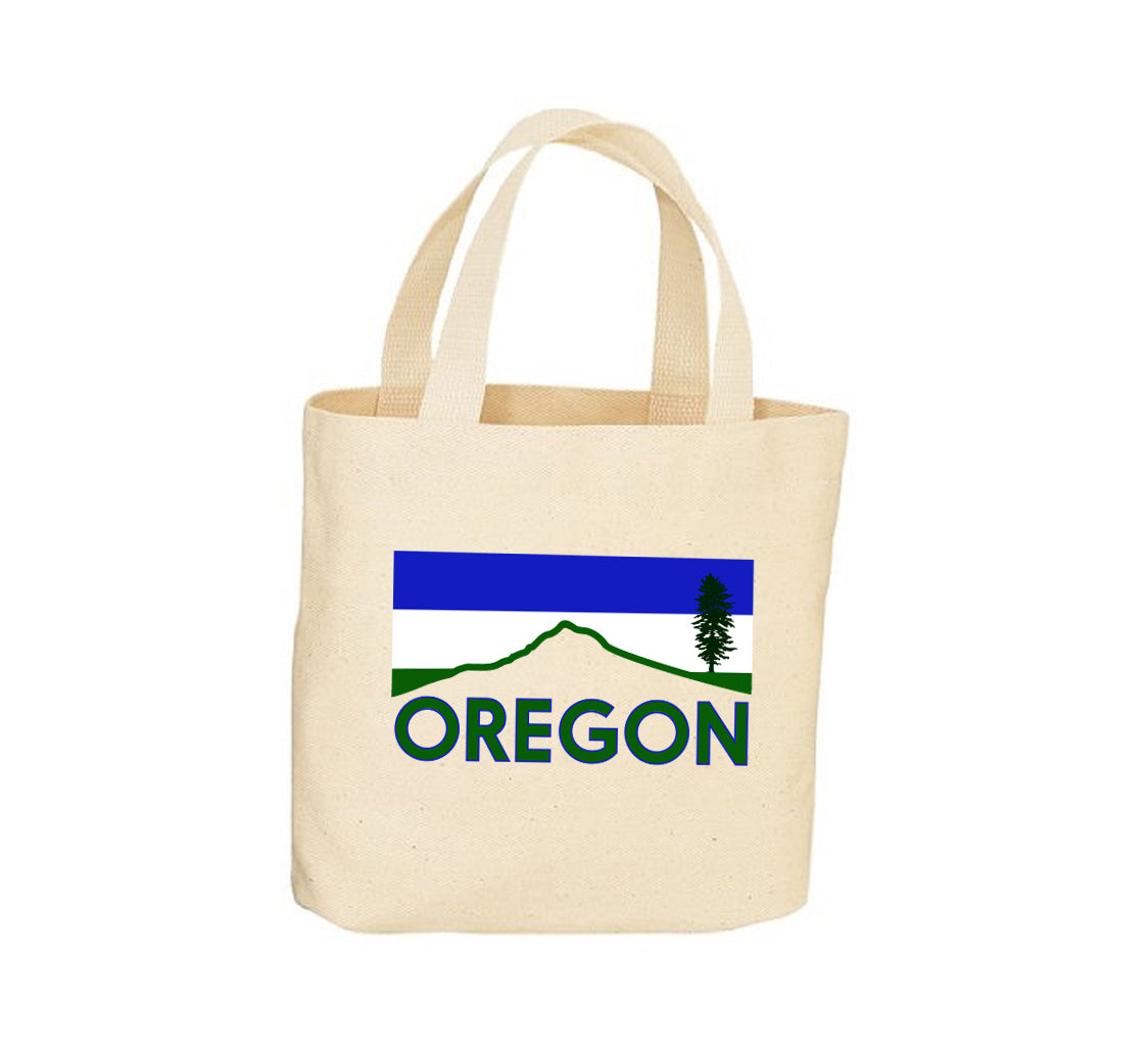 Mt. Hood Cascadia Canvas Tote Bag