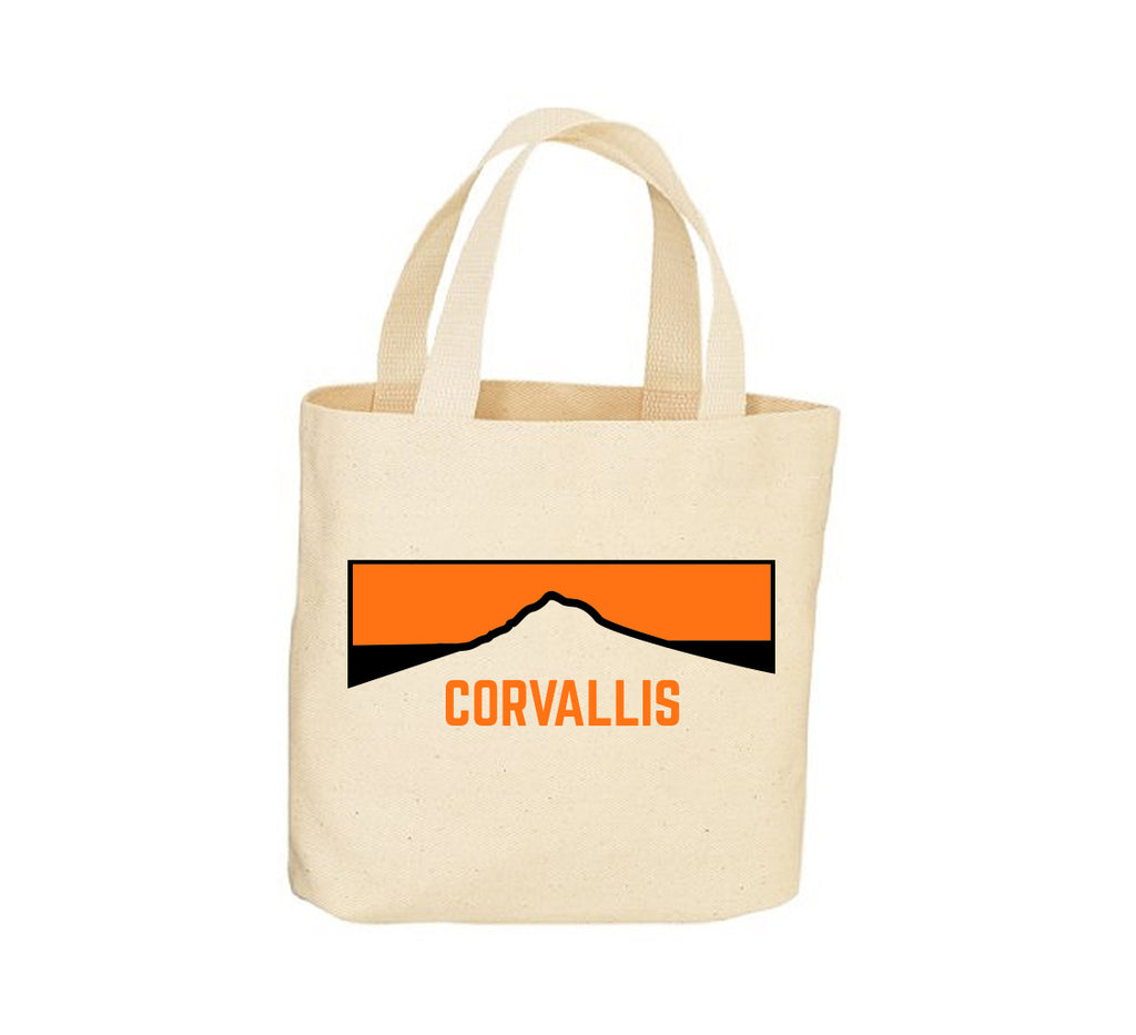 Corvallis Horizon Canvas Tote Bag