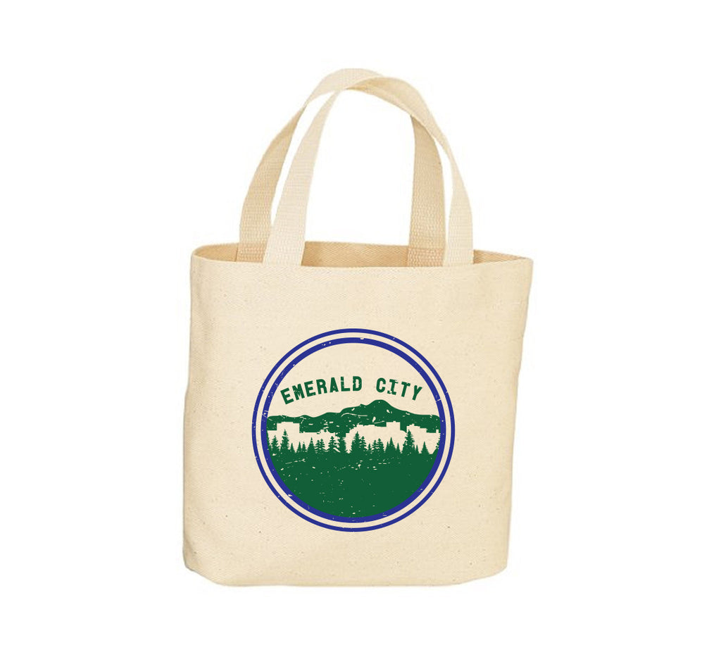 Emerald City Canvas Tote Bag