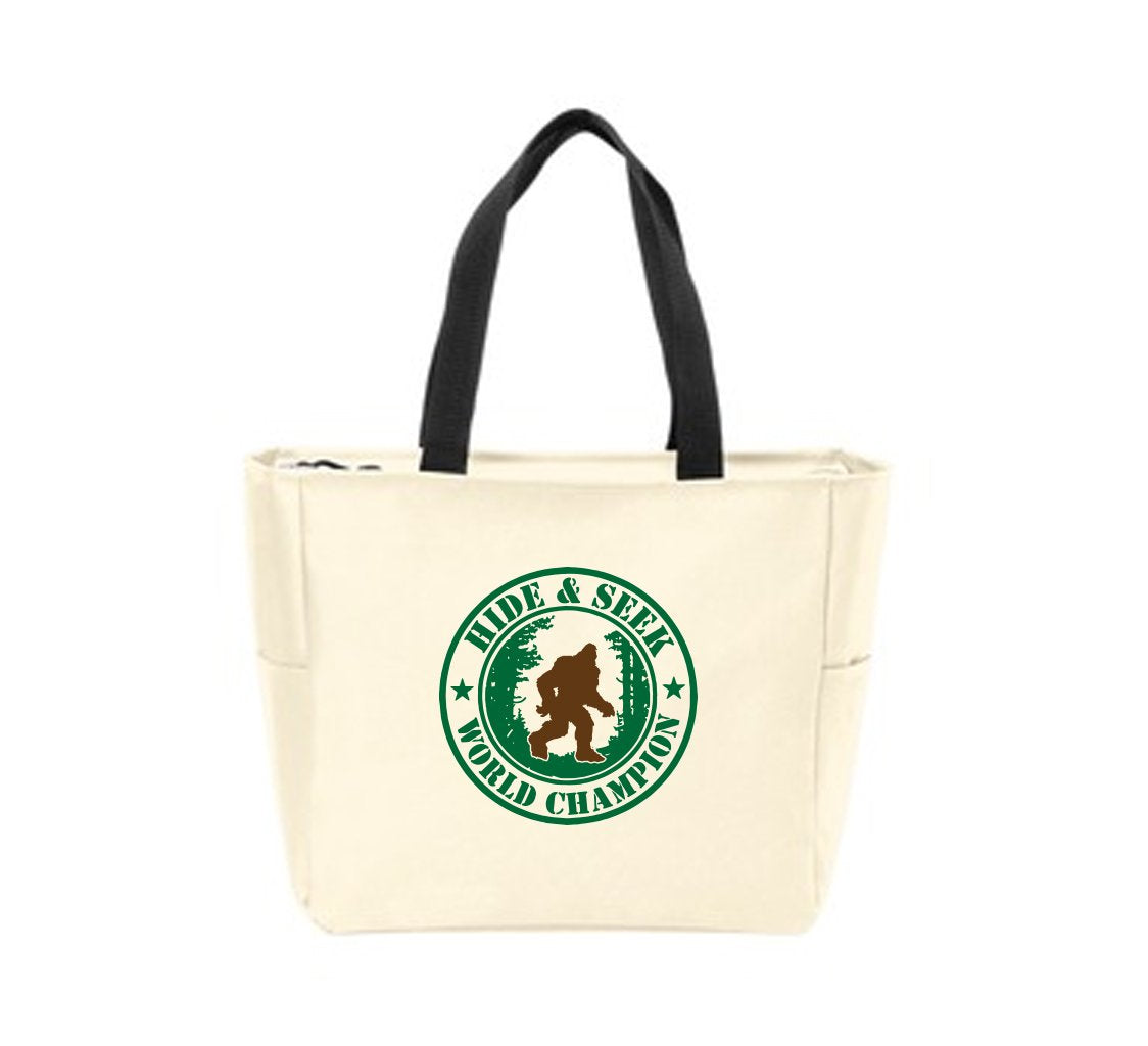 Hide and Seek World Champion Tote Bag