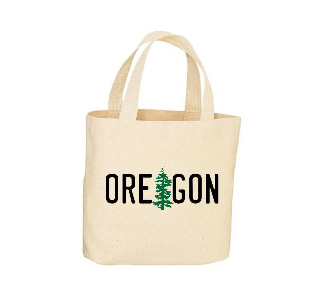 OR State License Plate Canvas Tote Bag