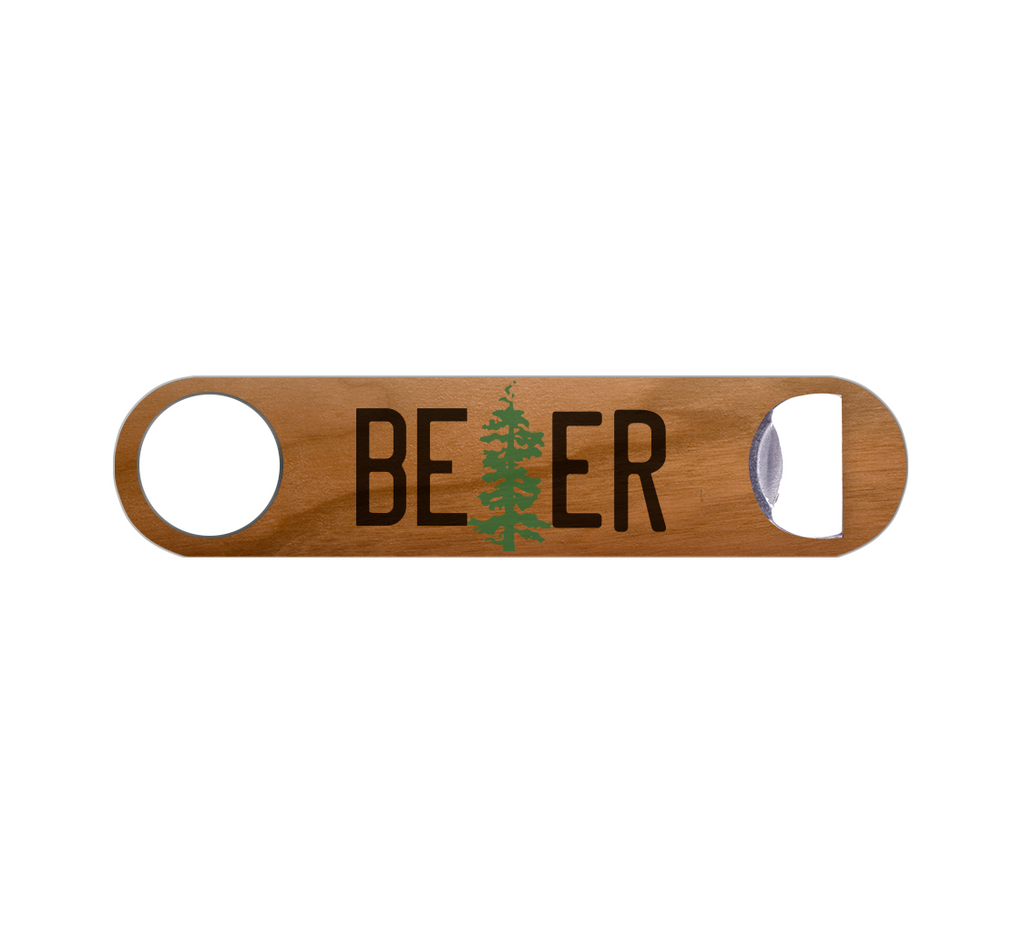 Beer License Plate Bottle Opener