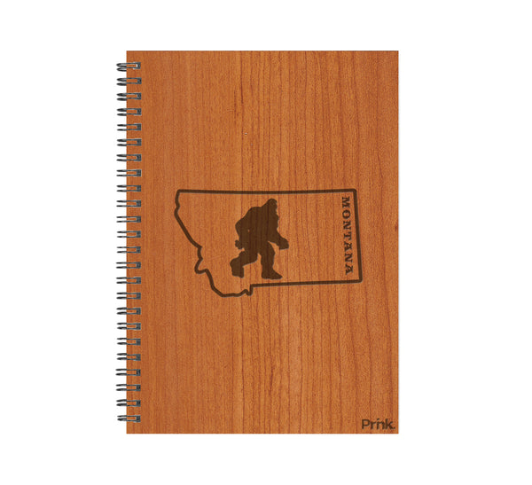 Bigfoot in Montana Wood Journal