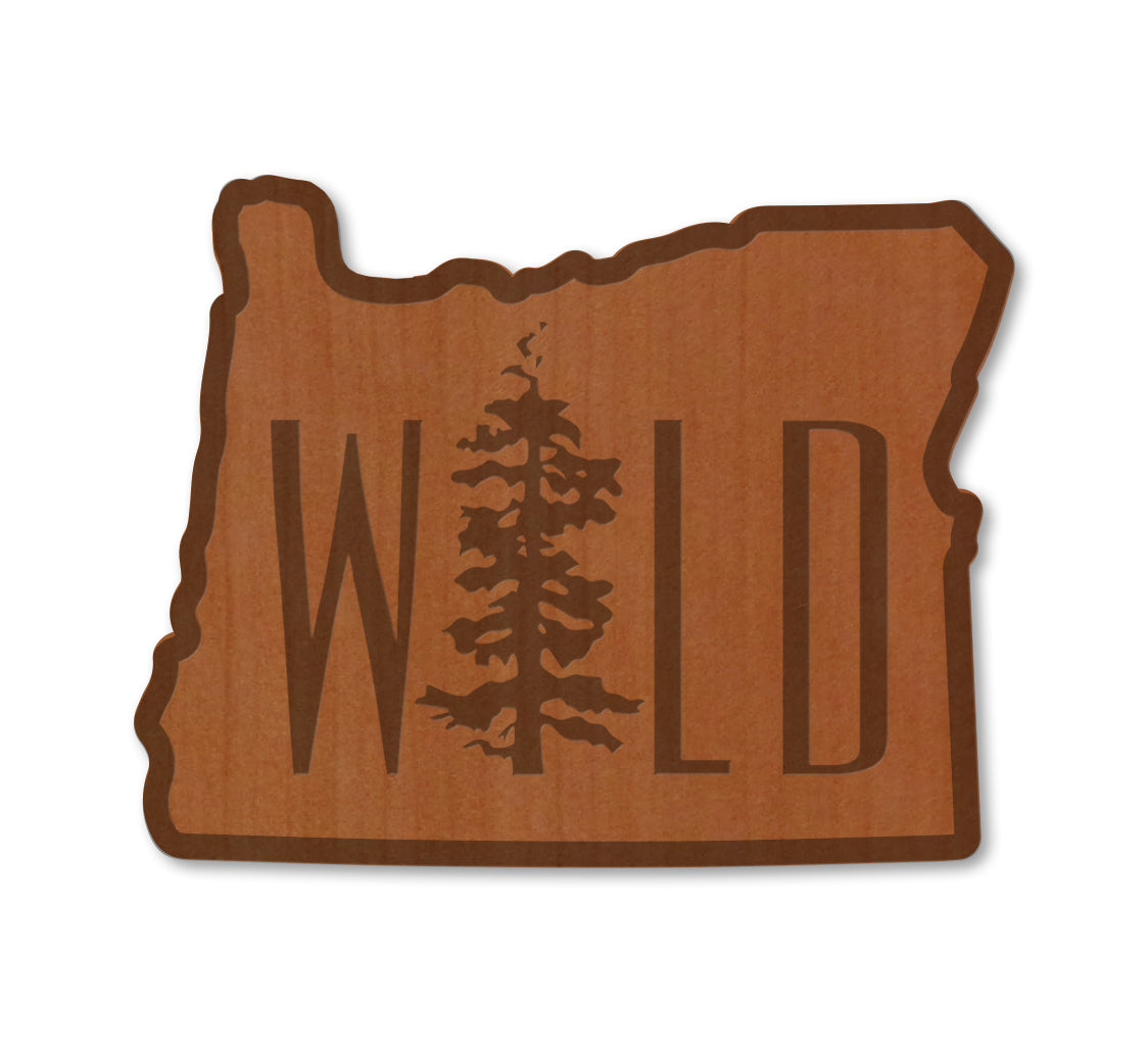 Wild OR Real Wood Magnet