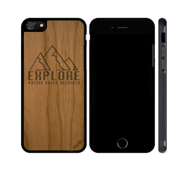 Nature Based Research Wood iPhone or Galaxy Case
