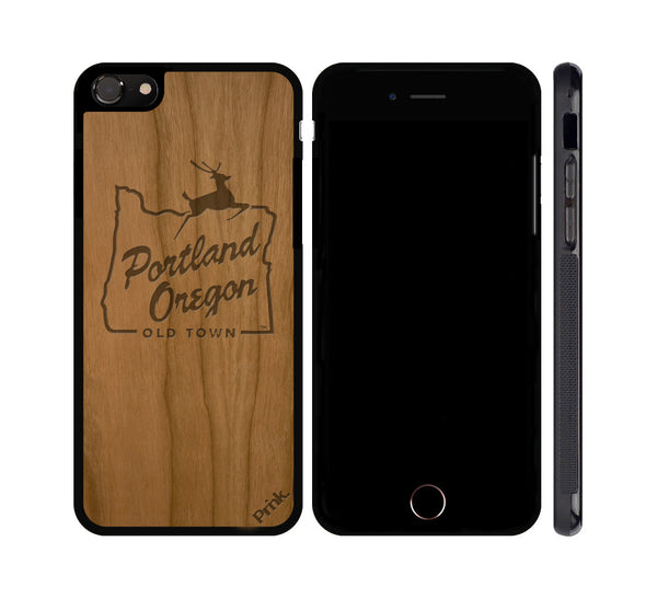 White Stag Wood iPhone or Galaxy Case